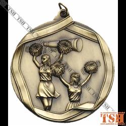 Médaille de cheerleading