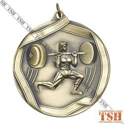 Médaille d'haltérophilie F