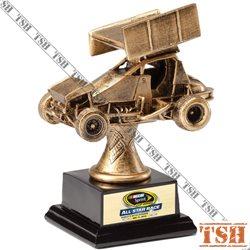 Trophée de course automobile