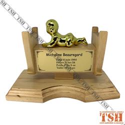 Baby Cradle Trophy